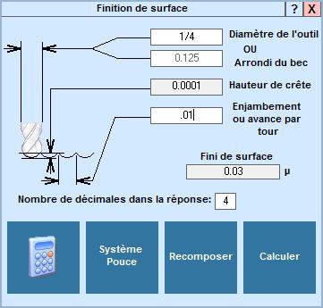 Application Finition de surface